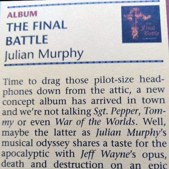 The Final Battle - Album Review - Soundboard Magazine