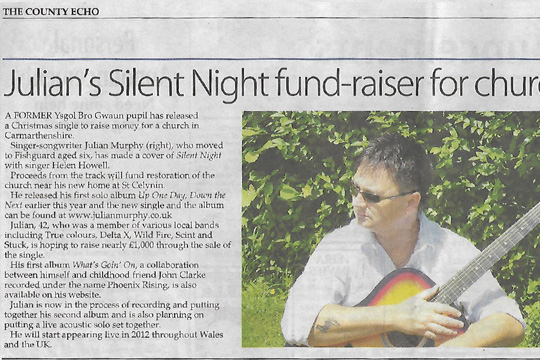 Interview in County Echo 09th September 2011